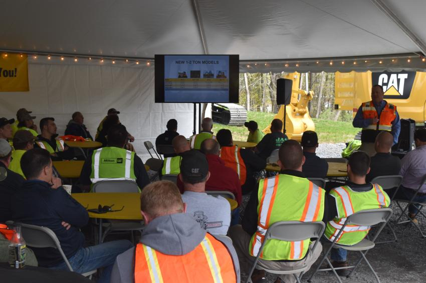 At Milton CAT Next Generation rollout events across New York and New England, contractors gathered to learn the advantages of the latest CAT technology and to have an opportunity to grab a little seat time.
