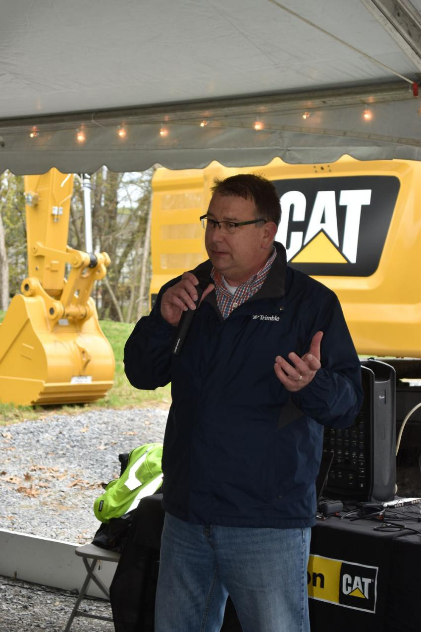Mike Jouben, manager of SITECH Northeast, addresses some of the latest advancements in Trimble Grade Control Technology and how it further enhances the return on investment from Caterpillar purchases