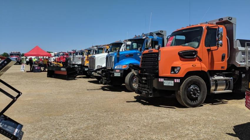 Held to introduce customers to vendors and new product advancements, the equipment expo is an ideal place to see Bonnell's snow-and-ice fighting vehicles, industrial leaf vacuums and road drags, as well as meet the people behind the trucks.