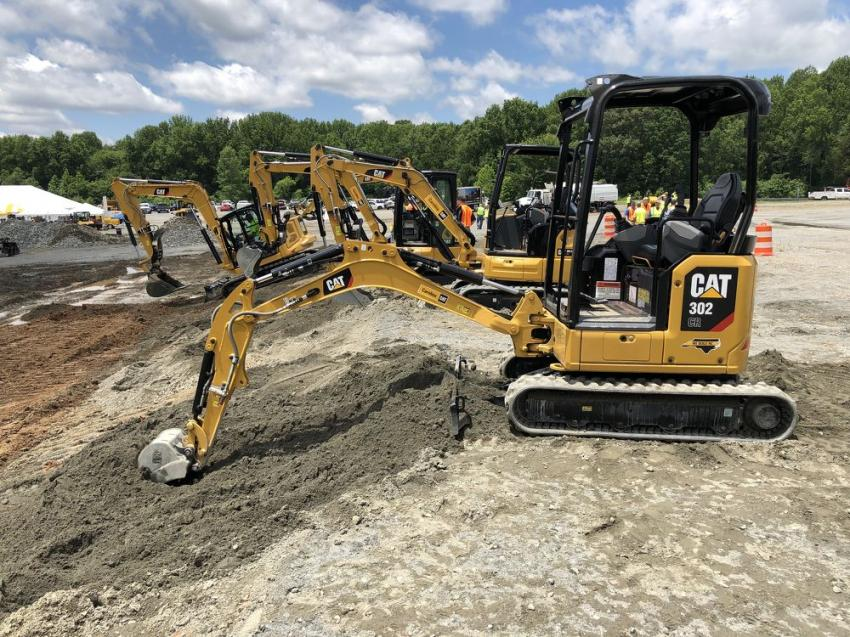 Cat's extensive line of mini-excavators has a product for all project needs both big and small.