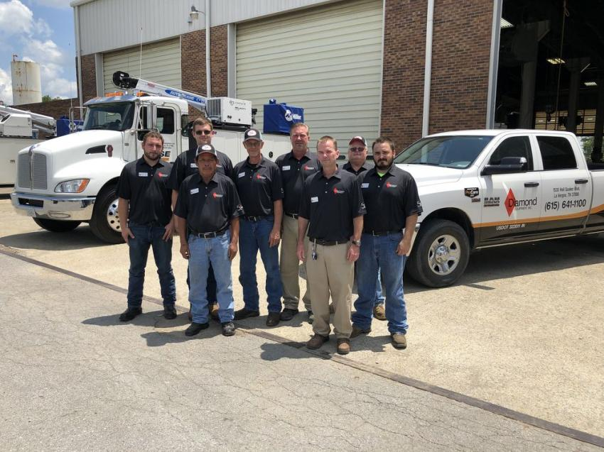 The Nashville Service Department is comprised of Jordan Green, Nathan Hamilton, Sam Somsanith, Richard Anderson, Andy Brown, Joel Orange, Bill Donnelly and Derek Woodard.