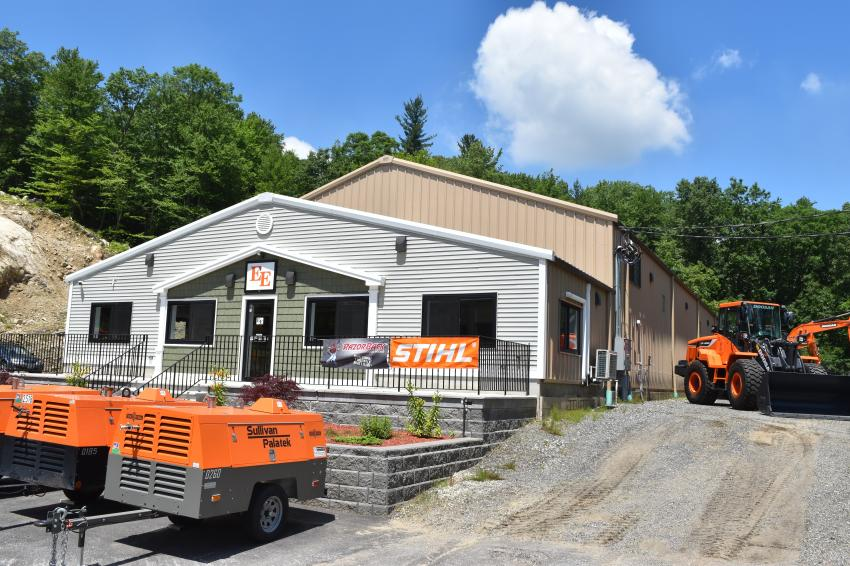Equipment East's new facility is located on Route 3-A in Bow, N.H.