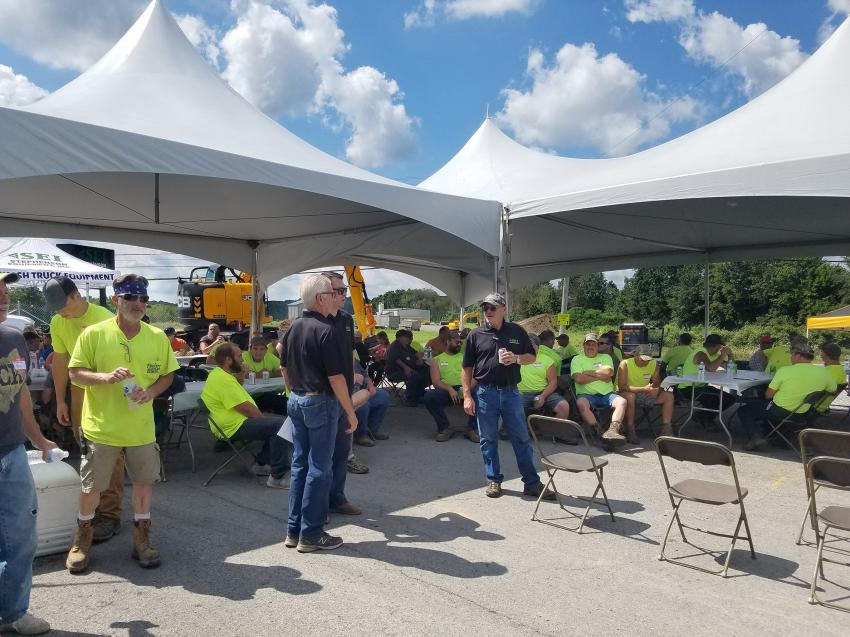At the Bandit Day event, attendees not only got their fill of Bandit knowledge, they also got their fill of a great lunch served by a local caterer and got to know Stephenson's dealership a little better.