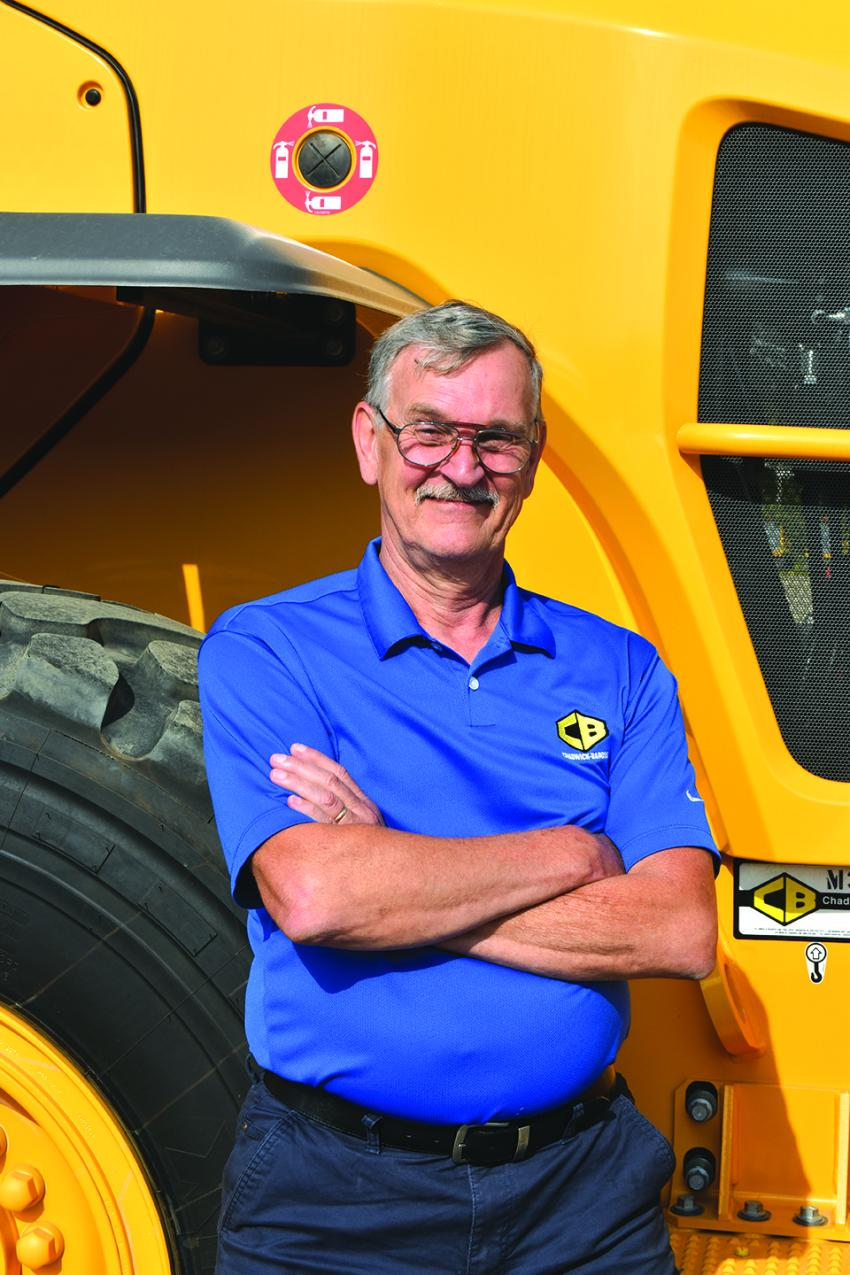 David Dubois has been with Chadwick-BaRoss since 1976.  He started working in the shop at Chadwick-BaRoss straight out of high school and today he is involved in some of the most advanced technology available in the industry, telematics.