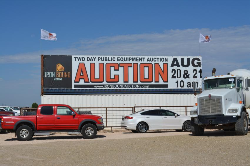 Contractors, farmers and ranchers converged on Seminole, Texas, for a huge two-day Iron Bound equipment auction on Aug. 20.