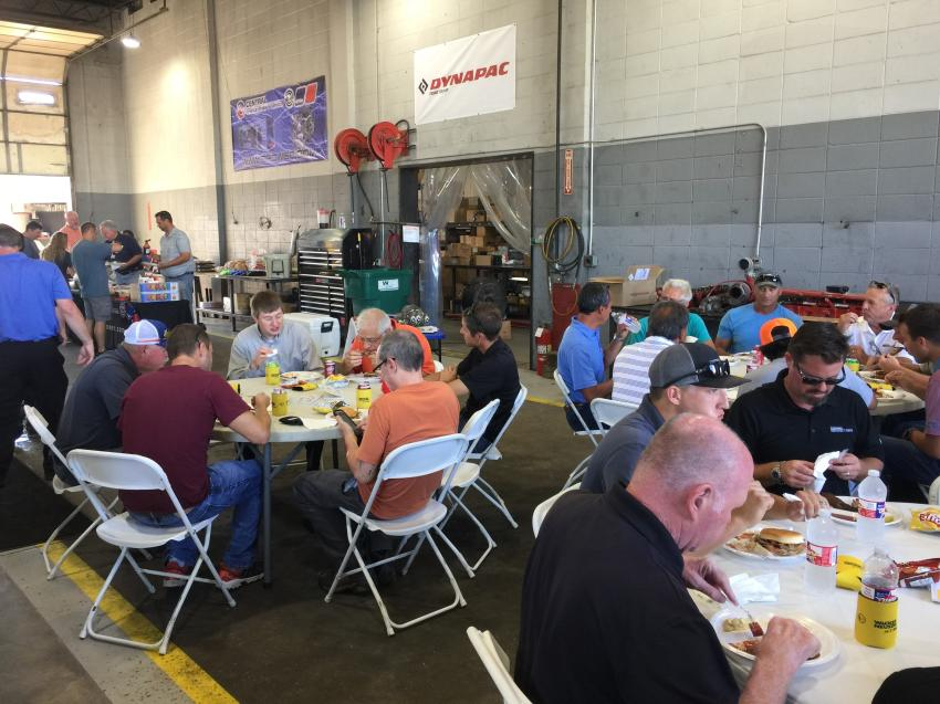The team at Central Power Systems & Services welcomed customers to an open house on Sept. 5 at its Wichita, Kan., branch.