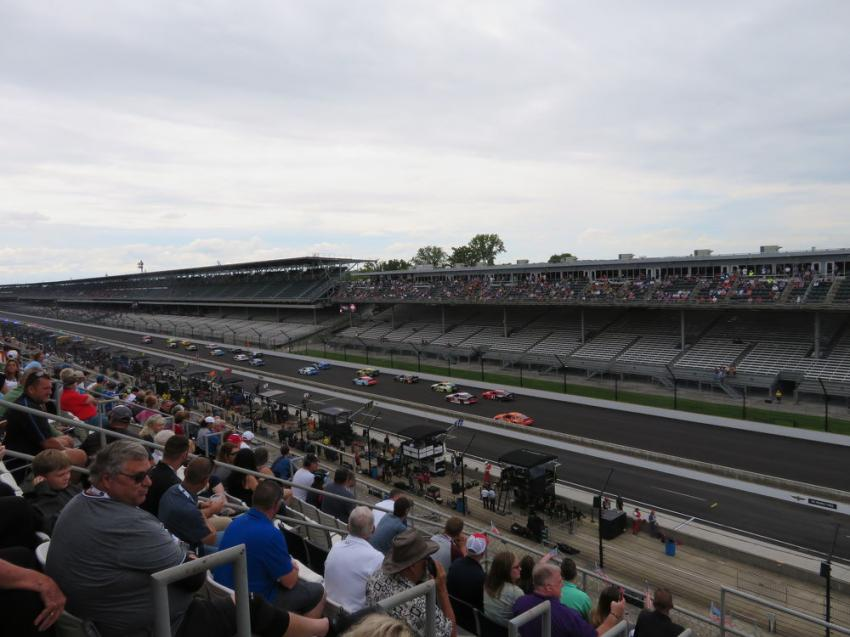 Customers of Howell Tractor & Equipment had a great view of the famed Indianapolis Motor Speedway from the Mi-Jack Tower suite booth #34.