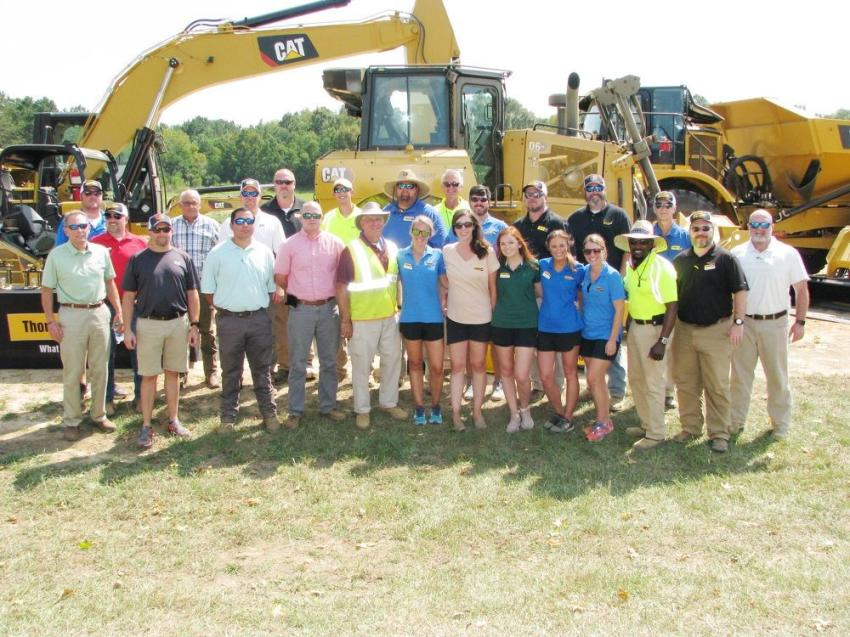 The Thompson Tractor series of Cat Operator Challenges were a huge success as a result of hundreds of hours of work and preparation from this dedicated group of staffers.
