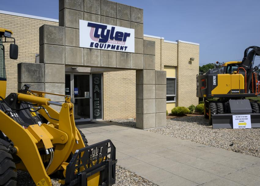 Tyler Equipment is located at 1980 Berlin Turnpike, Berlin, Conn.