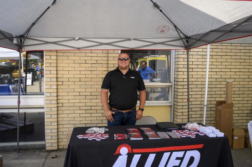Allied Construction product representative Scott Scholz.