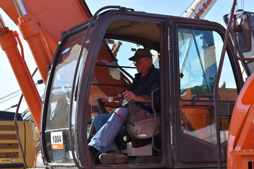 Bill Flynn, owner of Flynn Wrecking, Pottsville, Pa., considers adding to his equipment fleet.