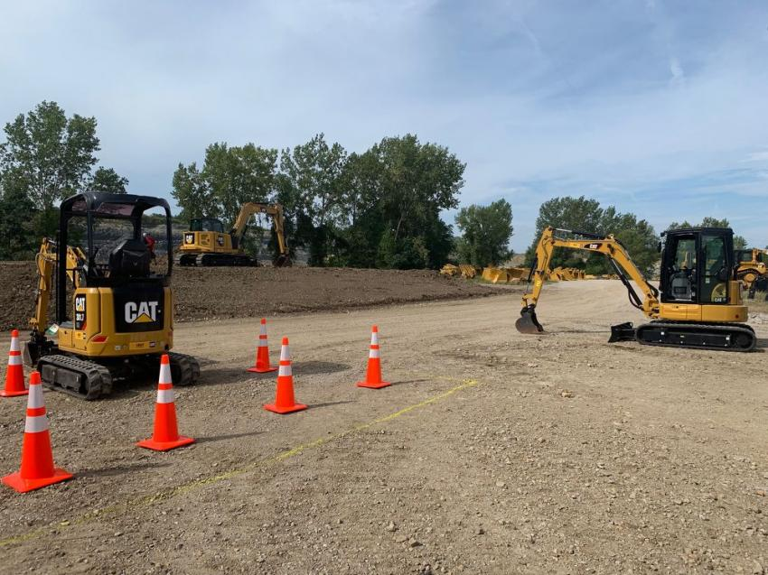 During September, Foley Equipment hosted a series of mini-excavator demonstrations in Wichita, Kan.; Manhattan, Kan.; Topeka, Kan.; and Kansas City, Mo.