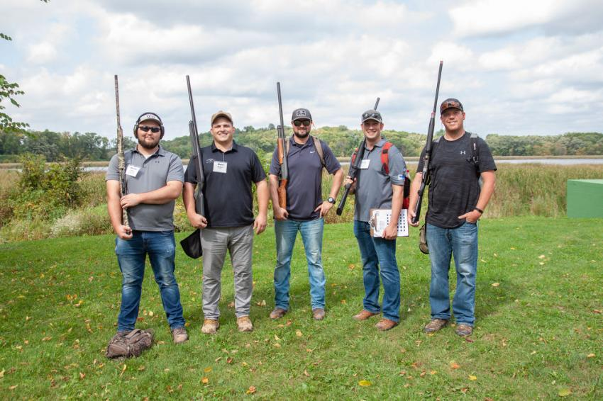 Members of Team Ceco Concrete were on hand at AGC of Minnesota's 20th annual Sporting Clays Fundraiser.