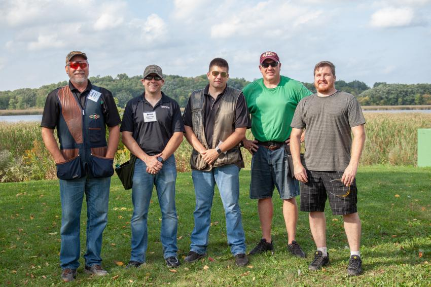 Granite Construction team members joined forces at AGC of Minnesota's Sporting Clay event.