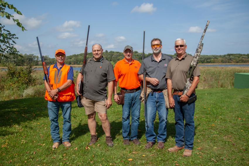 Team Dem-Con was among the 154 shooters at AGC of Minnesota's 20th annual Sporting Clays Fundraiser on Sept. 18 at the Minnesota Horse and Hunt Club.