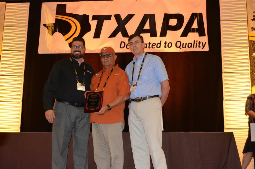 Johnny Lozano; Colorado Materials LTD; Technician of the Year, Level 1A