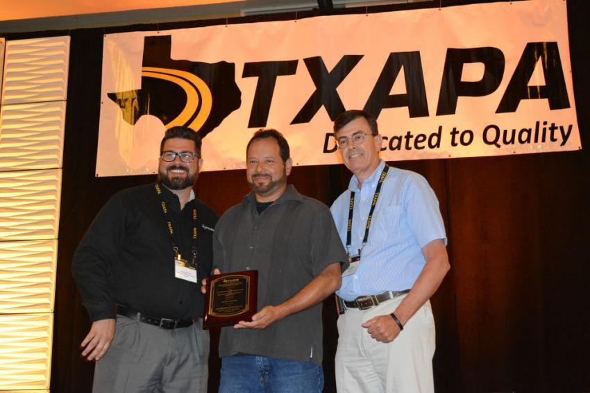 Manuel Martinez; Century Asphalt Materials; Technician of the Year, Level 1B