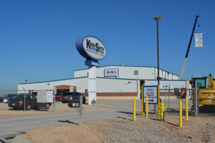Kirby-Smith Machinery Inc., has added significant space to its branch in Odessa, Texas, including a new 6,000-sq.-ft. service area, expanded sales offices and a new rental department.