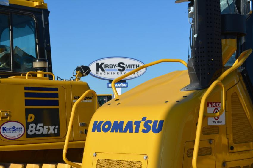 Kirby-Smith Machinery Inc. is one of the leading Komatsu dealers in the United States.