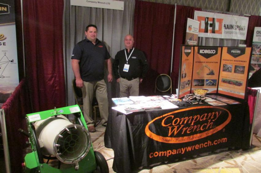 Chris DeRonde (L) and David Manwiller, both territory managers of Company Wrench.