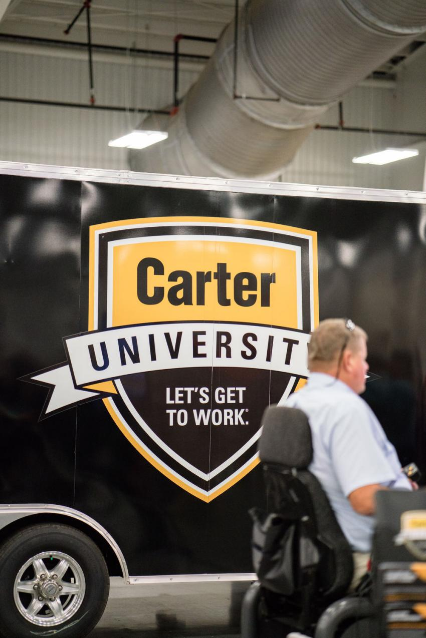 Carter University is a comprehensive training program that is conducted through instructor-led classes and online programs, dedicated to training customer technicians and operators. Carter also has a dedicated team of Instructors teaching an Apprenticeship Program that is nationally recognized and fully accredited and offers excellent full-time pay and benefits.  The program is ideal for recent high school graduates or those exiting the military, possessing a strong mechanical aptitude.