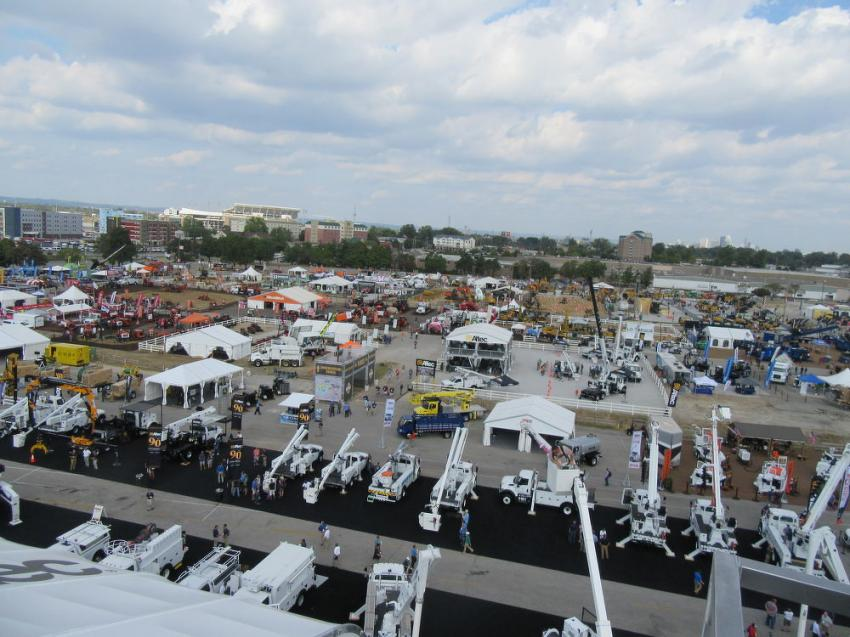 The International Construction & Utility Equipment Exposition (ICUEE), also known as the Demo Expo, featured more than 30 acres of indoor and outdoor exhibits.