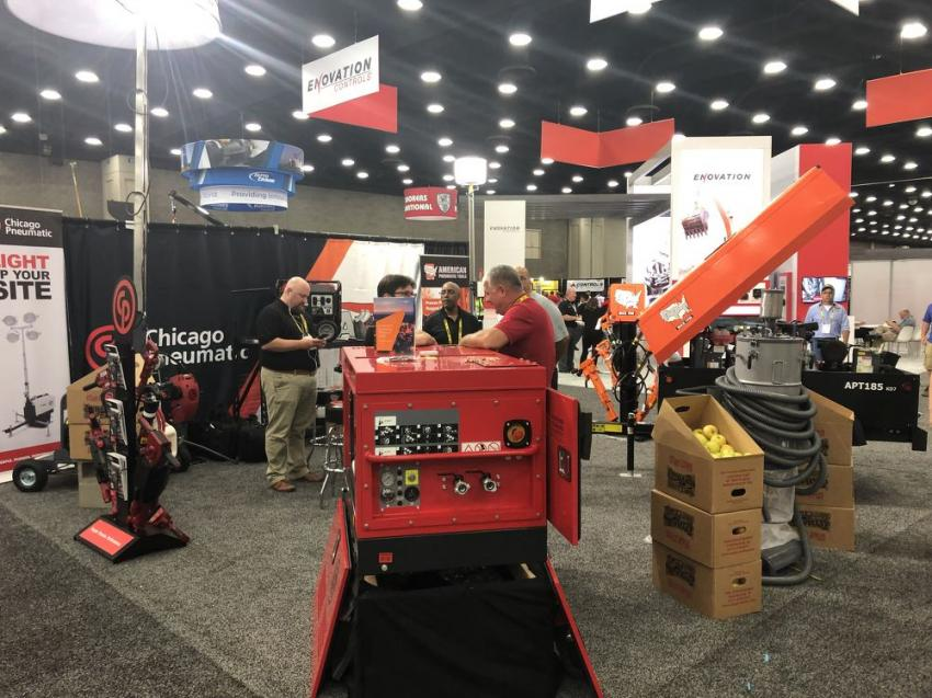 Since 1894 Chicago Pneumatic has been providing air-powered tools to the construction and mining trades.