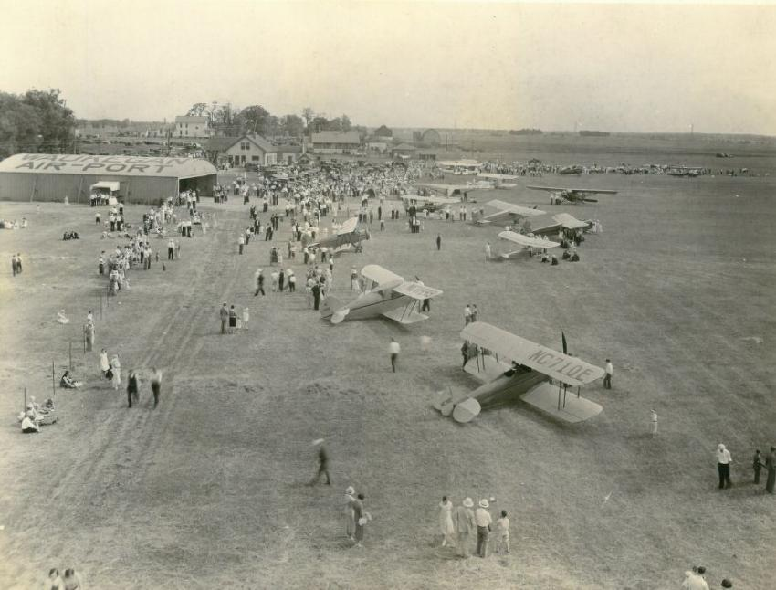 In 1931, Burris Implement was opened on the original site of the Waukegan Regional Airport by Linden and May Burris.