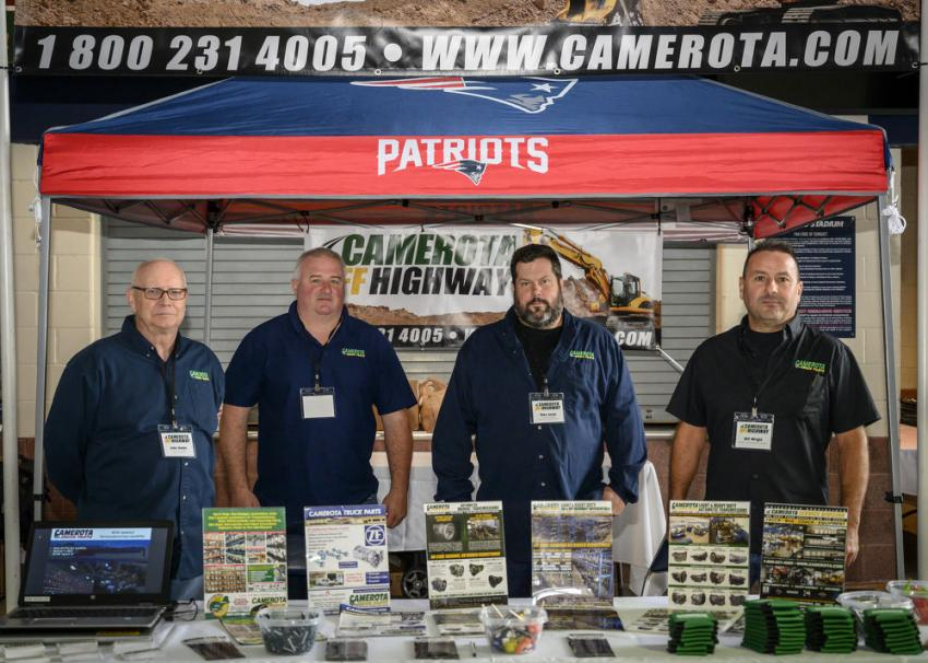 The Camerota Truck Parts Drivetrain Specialist Team (L-R) are John Hobbs, Bob White, Mike Smith and Bill Wright.