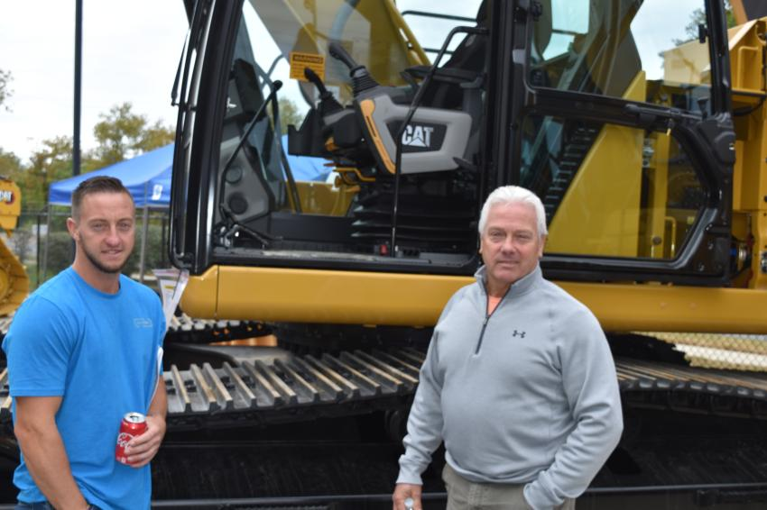 Father and son, both named Brent Decker, of Tri State Fence in Williamsport, Md. The senior Decker is the company's owner.