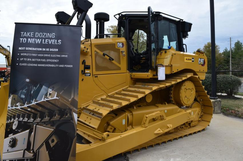 The stars of the show were the new Caterpillar Next Generation Machines, which included the Cat D6 and D6 XE Next Gen dozers; Cat 289D3 CTL; Cat 262D3 skid steer; Cat 336 GC Next Gen excavator.