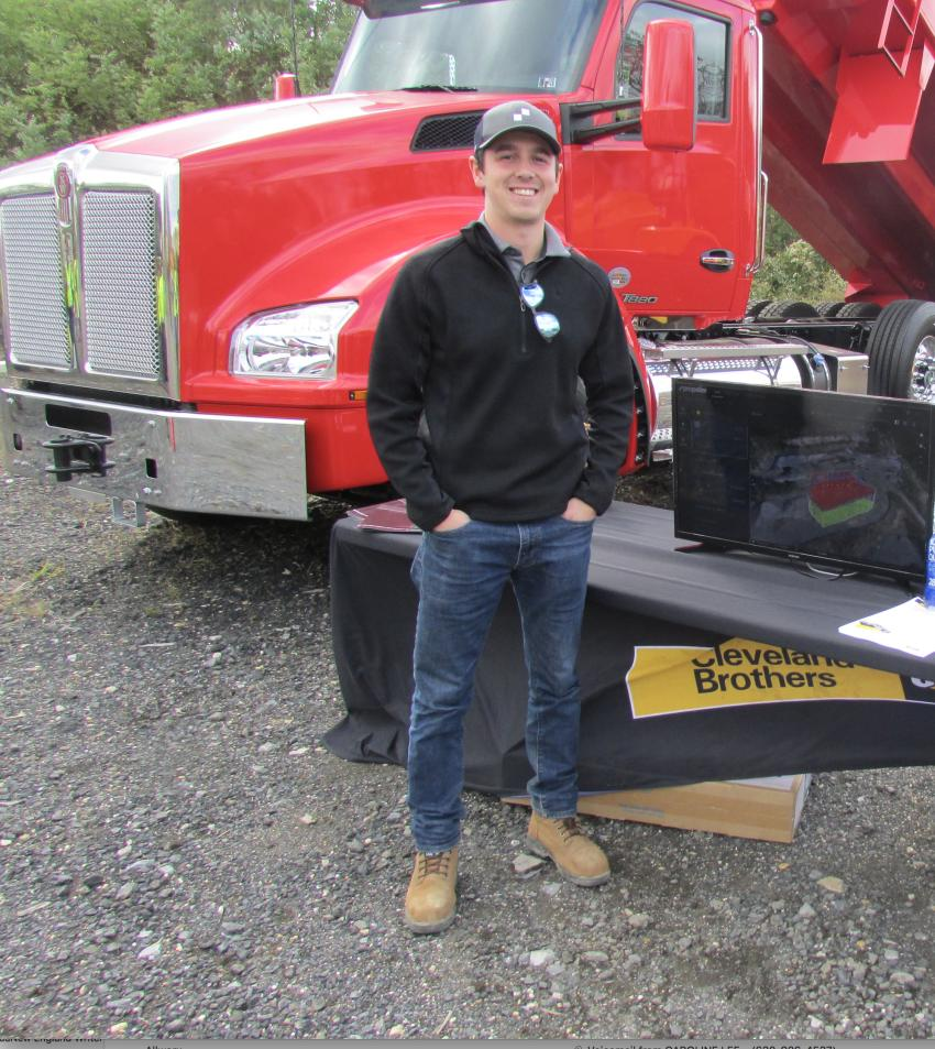 Matt Gendron, Northeast Sales, Propeller Aero, is ready to discuss Trimble Stratus software that helps aggregate operations use drones to map, measure and share accurate information about their worksites and assets.