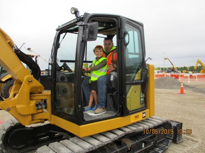 Dozer Day was held Oct. 5 to 6 at the Kansas Speedway and benefits children's charities.