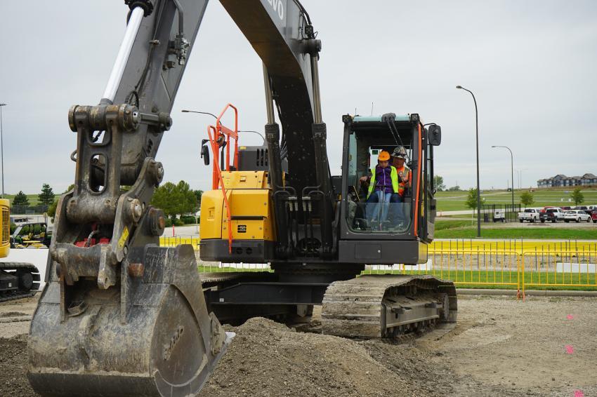Excavators are also a big draw at Dozer Day.