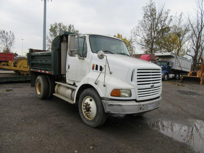 The auction featured an impressive selection of work ready trucks.
