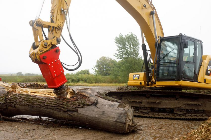 A variety of uses and applications of Rotochopper equipment were demonstrated.