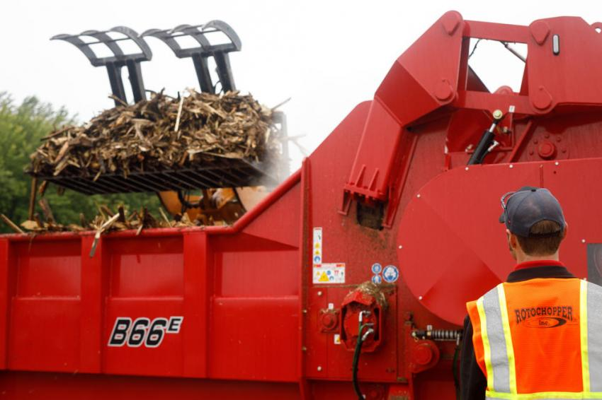 The afternoon was filled with additional demos, showcasing a variety of uses and applications of Rotochopper equipment.