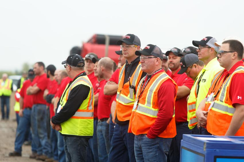 More than 200 guests from around the world attended Rotochopper's Demo Day.