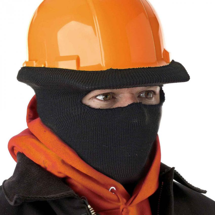 Hard Hat Winter Cap — Keep out the winter chill with this full-face winter stretch cap from N-Ferno. Perfectly suited to wear under a hard hat, it'll make the cold days on the job a bit easier. $12.44