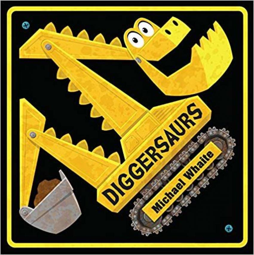 Diggersaurs by Michael Whaite — This children's book makes a fun hybrid of two things kids absolutely love — dinosaurs and things with wheels. Your child will love Scoopersaurus, Dumpersaurus and more. $11.72