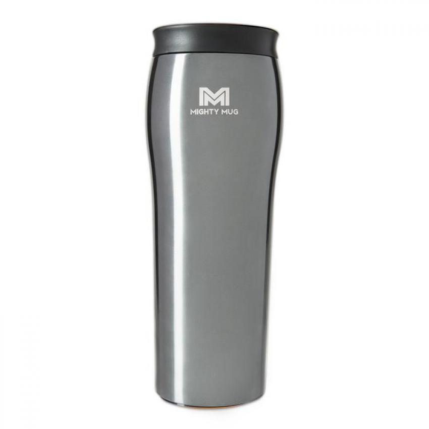 Mighty Mug Travel Mug — This mug is the perfect option for bustling job sites because it doesn't fall over. The Mighty Mug's special design makes it so that your hot beverage will stay upright despite any bumps. Available in a range of colors and sizes. Starting at $30.00