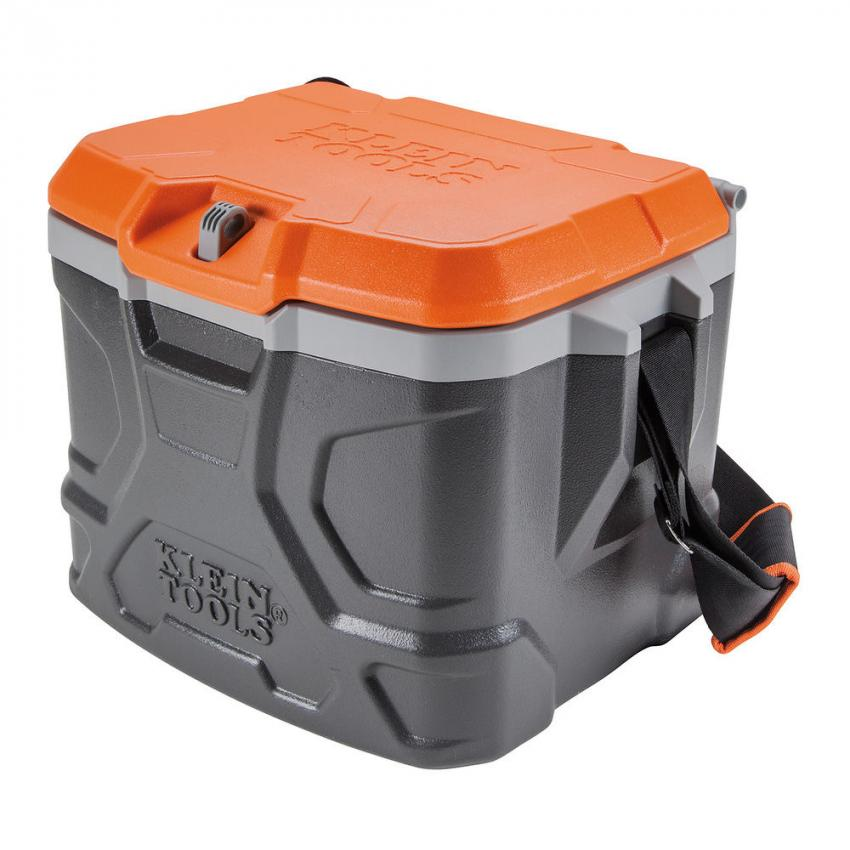 Tradesman Pro Tough Box 17-Quart Cooler — One jobsite necessity is a lunch cooler that can withstand just about anything. This one keeps food and beverages cool for up to 30 hours, and doubles as a seat that holds up to 300 lbs. A convenient strap makes it easy to tote from place to place. $55.45