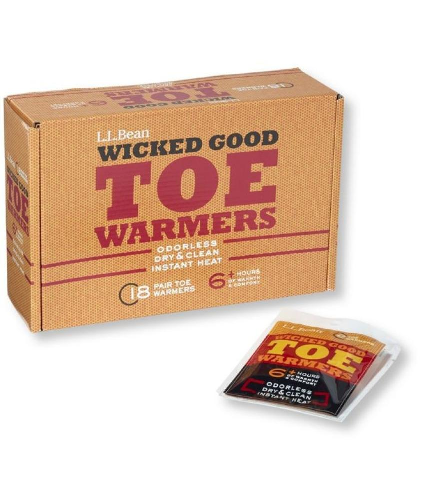 Hand and Toe Warmers — Working outside in the cold weather can take a major toll on workers, but these hand warmers and toe warmers from L.L. Bean are sure to help. Choose from a box of either 25 hand warmers or 18 toe warmers for $29.95.