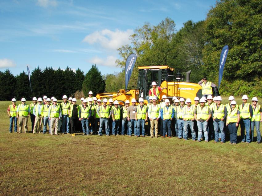 Lots of dealer participation for the recent Hyundai Heavy Metal Training sessions in north Georgia.
