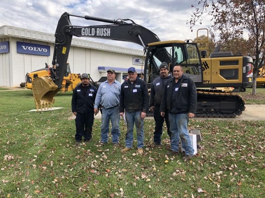 (L-R): Cesar Valle, Danny Biggers, Paul Simpson, Alejandro Camacho and Michael Matheny, all of Ferebee Corp. in Charlotte, N.C.