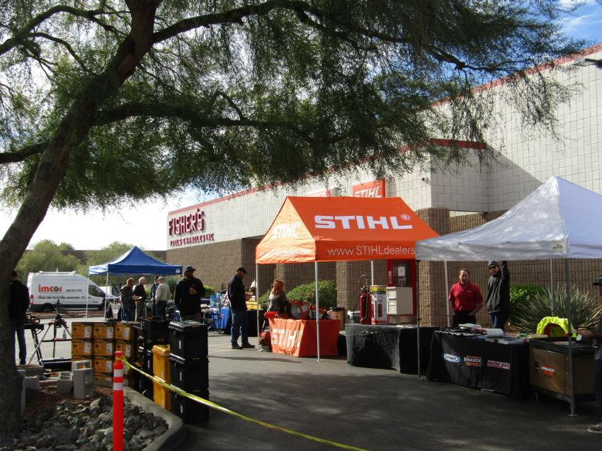 The Fisher Tools Annual Customer Appreciation Sale was held on Dec. 11, 2019, at 1990 East 3rd St., Tempe, Ariz.