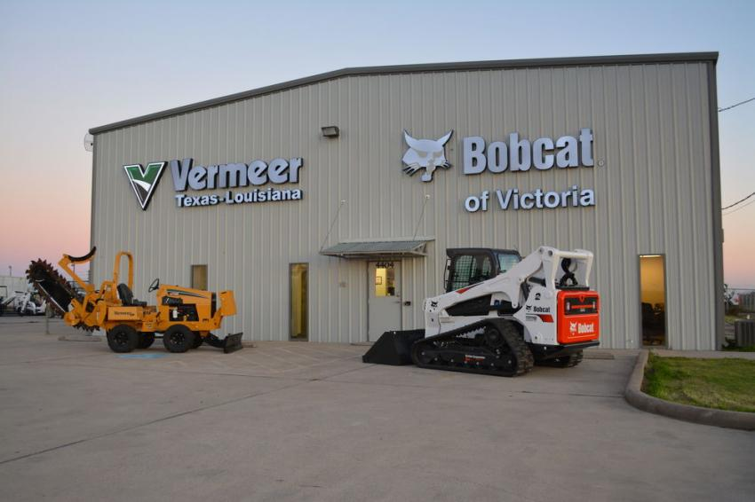 The new location in Victoria will feature both the Vermeer and Bobcat lines of equipment.