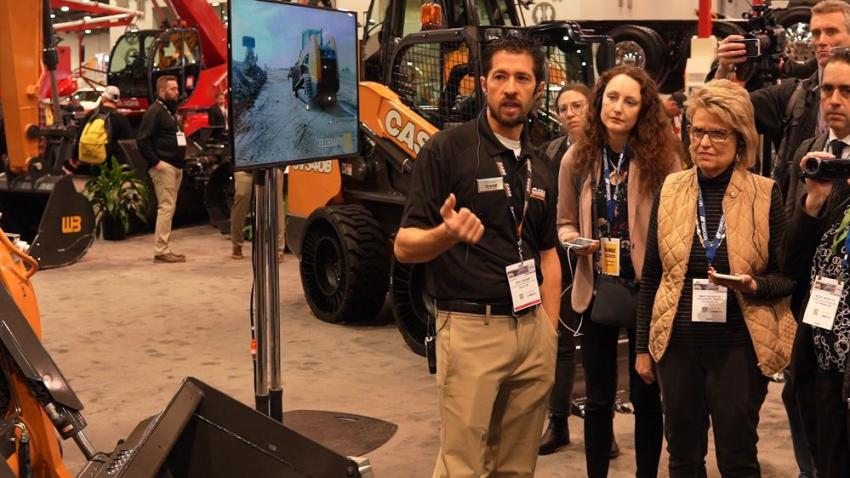 Case's Eric Zieser goes over all of the new B Series compact loader improvements and updates for its new product line relaunch.