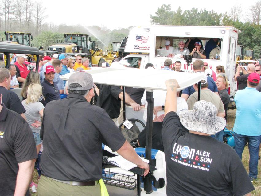 Another huge turnout for the heavy iron sale days.