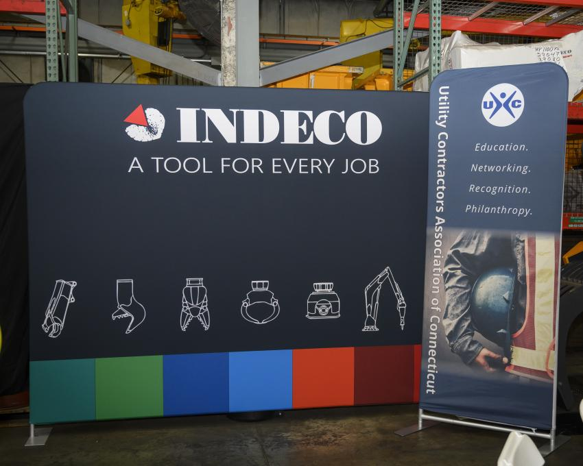 Indeco hosted the 2020 Utility Contractors Association of Connecticut meeting at its North American headquarters, located in Milford, Conn.